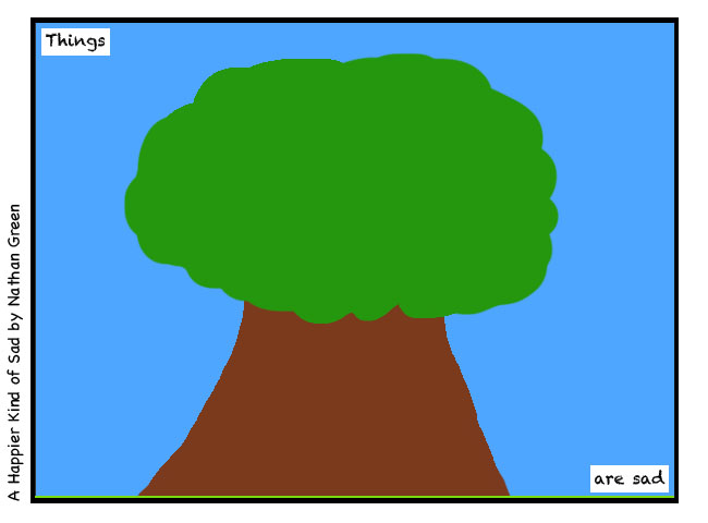 A Comic Featuring A Tree